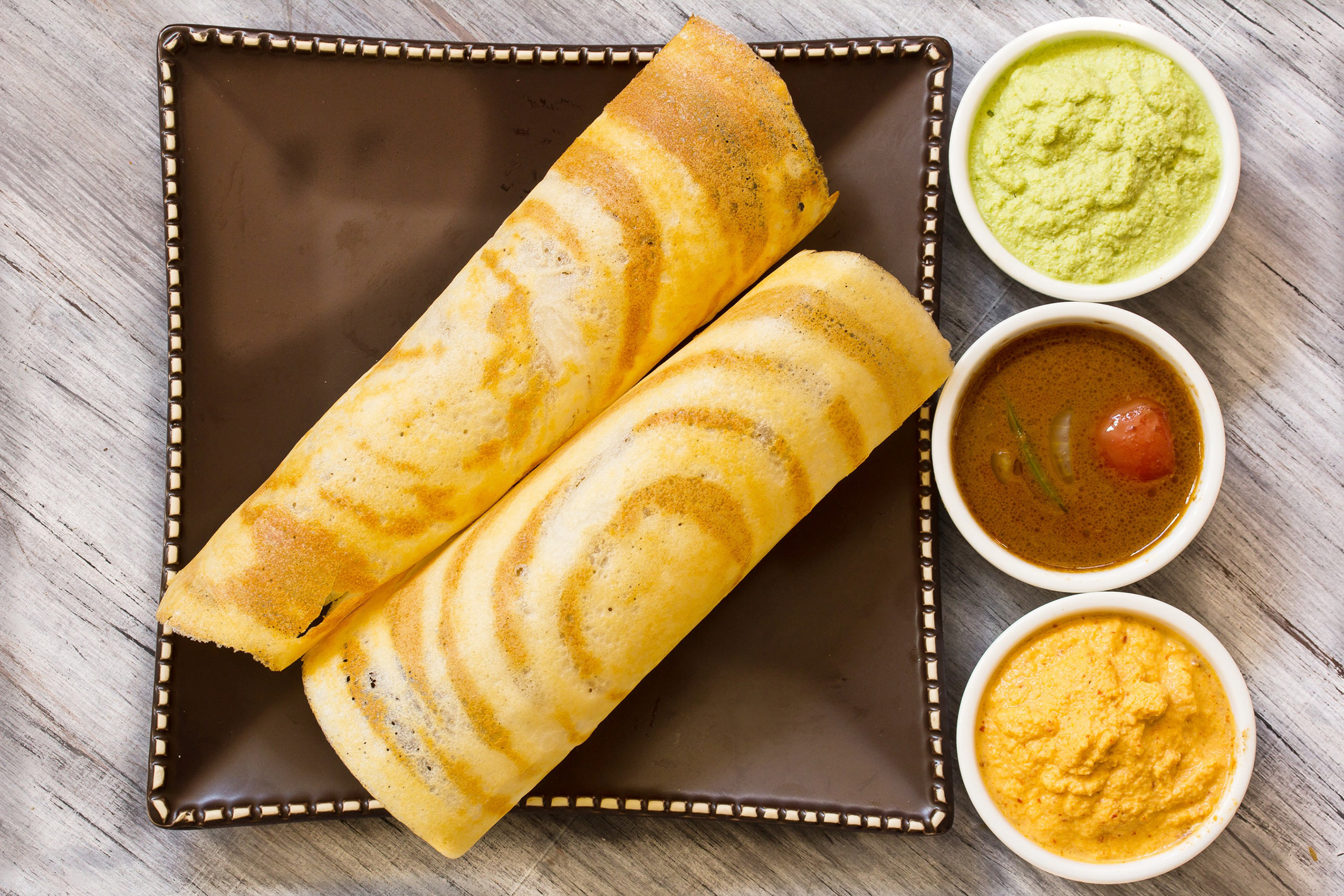 Plain Dosa Prosi Indian Restauran...
